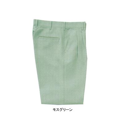 サンエス WA20003(AG20003) ツータックパンツ 二重織り裏綿 ポリエステル89%・綿10%・複合繊維(ポリエステル)1% ストレッチ 帯電防止素材 裏綿 形態安定