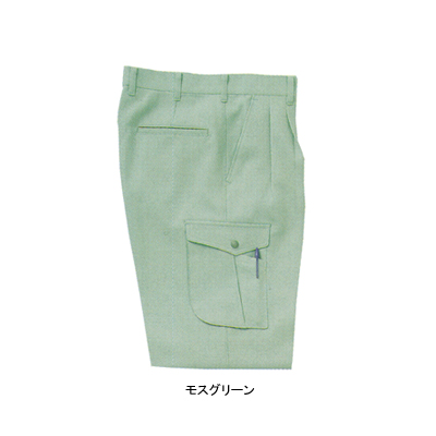 サンエス WA20005(AG20005) ツータックカーゴパンツ 二重織り裏綿 ポリエステル89%・綿10%・複合繊維(ポリエステル)1% ストレッチ 帯電防止素材 裏綿 形態安定