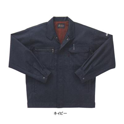 サンエス WA20311(BC20311) 長袖ジャンパー ツイル ポリエステル64%・綿35%・複合繊維(ポリエステル)1% 再生ポリエステル55% ストレッチ 帯電防止素材 エコ