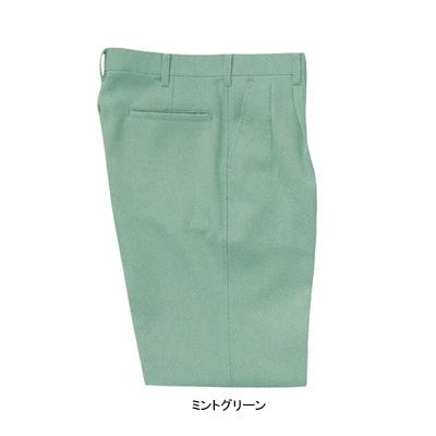 サンエス WA3740(BC3740) ツータックパンツ 二重織り裏綿 ポリエステル90%・綿10%・複合繊維(ポリエステル)1% ストレッチ 帯電防止素材 裏綿 形態安定