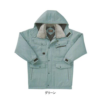 サンエス BO30211(AG30211) 防寒コート ツイル([表]ポリエステル65%・綿35%、[裏]タフタ・ポリエステル100%、[中綿]ポリエステル100%) 帯電防止素材 撥水