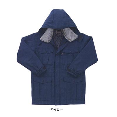 サンエス BO30181(AD30181) エコ防寒コート ツイル([表]ポリエステル100%、[裏]タフタ・ポリエステル100%、[中綿]ポリエステル100%) 帯電防止素材JIS T8118規格適合 撥水 家庭洗濯可
