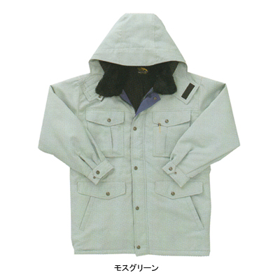 作業着 作業服 サンエス AD30001 防寒コート XL・シルバー6 作業服から事務服まで総アイテム数10万点以上綺麗で丁寧な刺しゅう職人の店SpzVqUM