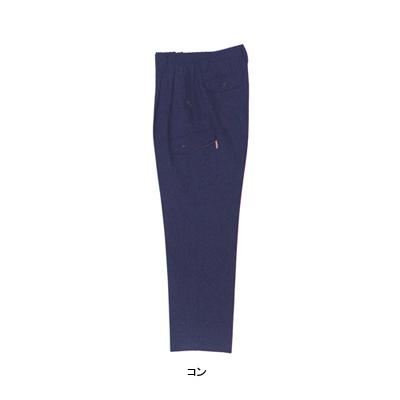 ジーベック 8883 ツータックラットズボン ストレッチギャバ ポリエステル80%・綿20% 伸縮素材 帯電防止素材
