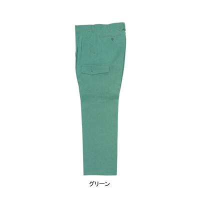 作業着 作業服 ジーベック 3930 ツータックラットズボン W79・グリーン60 作業服から事務服まで総アイテム数10万点以上綺麗で丁寧な刺しゅう職人の店l1F3JcTK