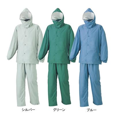 作業着 作業服 A-680 エントラントHP ハイテクスーツ(上下セット) XL ブルー2[作業服から事務服まで総アイテム数10万点以上!][綺麗で丁寧な刺しゅう職人の店]