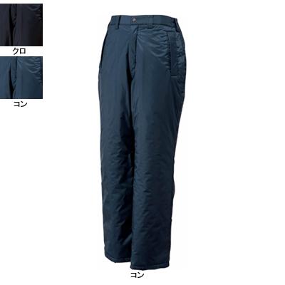 ジーベック 600 防水防寒パンツ [表]ポリエステル100%(ポリエステルタフタ)、[裏]ポリエステル100%(タフタ)、[中綿]ポリエステル100% 耐水圧8000mm PVCコーティング 防風性