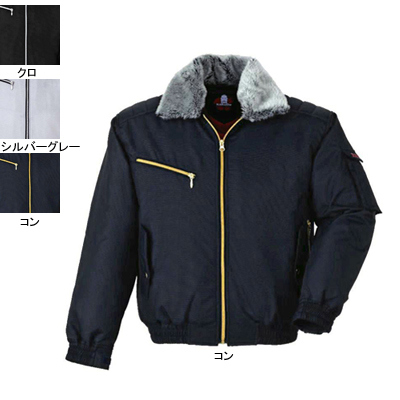 ジーベック 882 防寒ブルゾン [表]ポリエステル100%(ドビー)、[裏]立体キルティング・ポリエステル100%、[中綿]ポリエステル100%