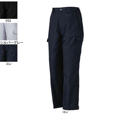 ジーベック 880 防寒パンツ [表]ポリエステル100%(ドビー)、[裏]立体キルティング・ポリエステル100%、[中綿]ポリエステル100%