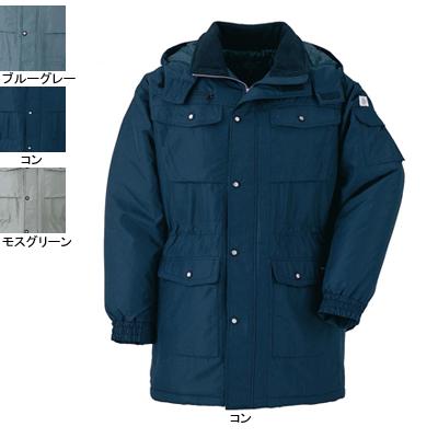 ジーベック 151 防寒コート [表]ポリエステル100%(タフタ)/再生ポリエステル97%、[裏]ポリエステル100%(タフタ)、[中綿]再生ポリエステル100% 撥水加工
