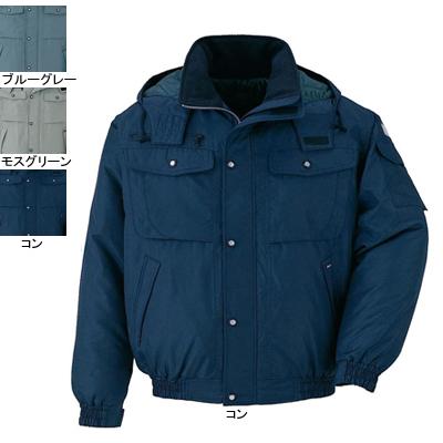 ジーベック 152 防寒ブルゾン [表]ポリエステル100%(タフタ)/再生ポリエステル97%、[裏]ポリエステル100%(タフタ)、[中綿]再生ポリエステル100% 撥水加工
