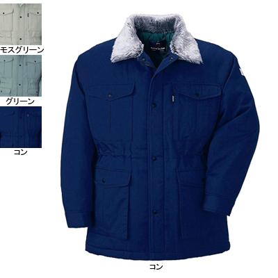 ジーベック 991 防寒コート エコツイル [表]ポリエステル50%・綿50%/再生ポリエステル100%、[裏]再生キルト・ポリエステル100%、[中綿]再生ポリエステル100% 超撥水加工
