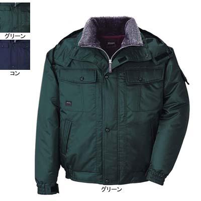 作業着 作業服 ジーベック 572 防水ブルゾン M・グリーン60
