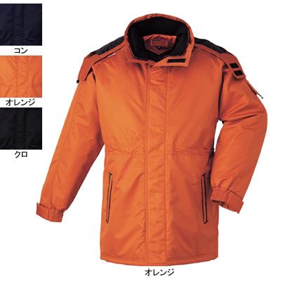 作業着 作業服 ジーベック 591 コート XL・オレンジ82