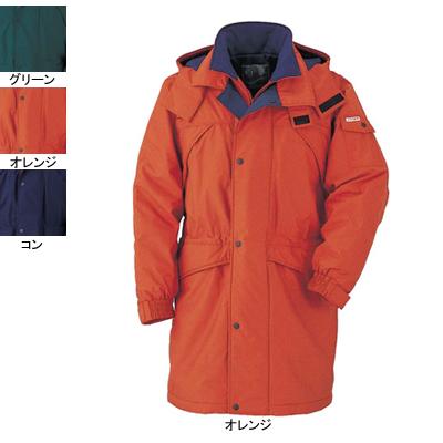 作業着 作業服 ジーベック 531 コート XL・オレンジ82
