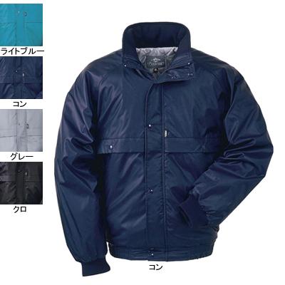 ジーベック 372 防寒ブルゾン [表]ナイロン100%(異形糸タフタ)、[裏]蓄熱保温素材・ポリエステル100% 撥水加工