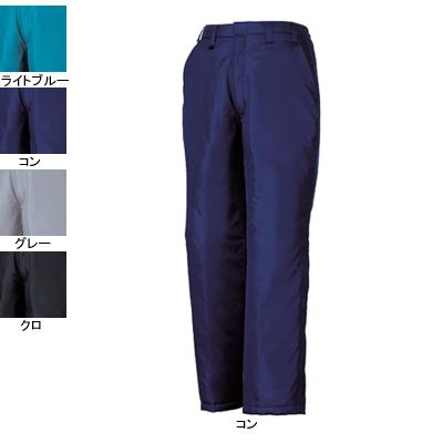 ジーベック 377 防寒パンツ [表]ナイロン100%(異形糸タフタ)、[裏]蓄熱保温素材・ポリエステル100% 撥水加工