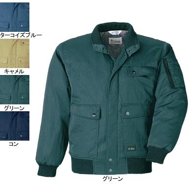 作業着 作業服 ジーベック 876 ジャンパー 4L・グリーン60