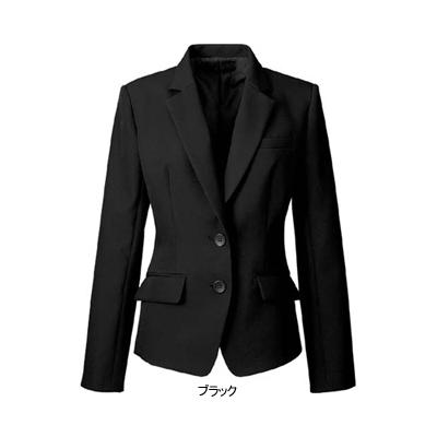 作業服 作業着 男女兼用 防寒着 事務服 制服 オフィスウェア 9号 ブラック9 ヌーヴォ ジャケット FJ15620 バーゲンセール
