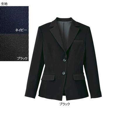 事務服・制服・オフィスウェア ヌーヴォ SJ1004 ジャケット 7号・ブラック2