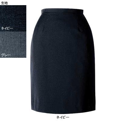 事務服・制服・オフィスウェア ヌーヴォ FS4052 セミタイトスカート 21号~23号