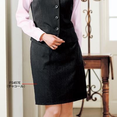事務服・制服・オフィスウェア ヌーヴォ FS457E ヌーヴォ タイトスカート FS457E 19号・チャコール1, アメイズゴルフ:fa463a1f --- rakuten-apps.jp