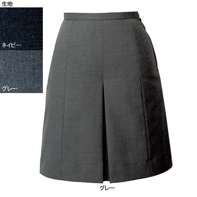 事務服・制服・オフィスウェア ヌーヴォ FC5020 キュロットスカート 7号・グレー2