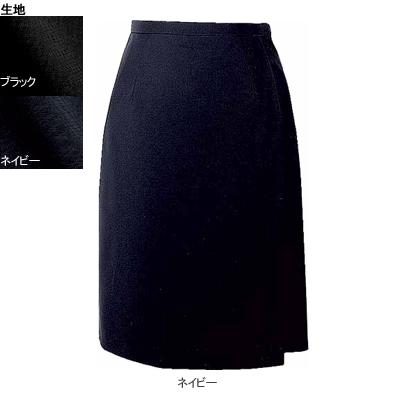 事務服・制服・オフィスウェア ヌーヴォ FC5522 キュロットスカート 11号・ネイビー1