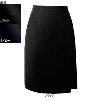 事務服・制服・オフィスウェア ヌーヴォ FC5522 キュロットスカート 13号・ブラック2