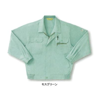 サンエス WA451(AD451) 長袖ブルゾン 二重織り(綿100%) ストレッチ