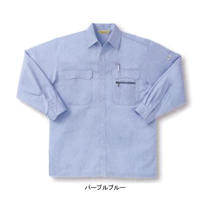 サンエス WA479(AD479) 長袖シャツ 二重織り(綿100%) ストレッチ