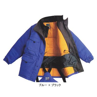 サンエス BO8000(ST8000) 冷凍倉庫用防寒コート ツイル([表]ポリエステル100%、[裏]起毛トリコット・ポリエステル100%、[中綿]シンサレート・ポリエステル100%) 帯電防止素材 撥水 -60℃対応