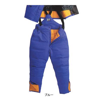 サンエス BO8005(ST8005) 冷凍倉庫用防寒パンツ ツイル([表]ポリエステル100%、[裏]起毛トリコット・ポリエステル100%、[中綿]シンサレート・ポリエステル100%) 帯電防止素材 撥水 -60℃対応
