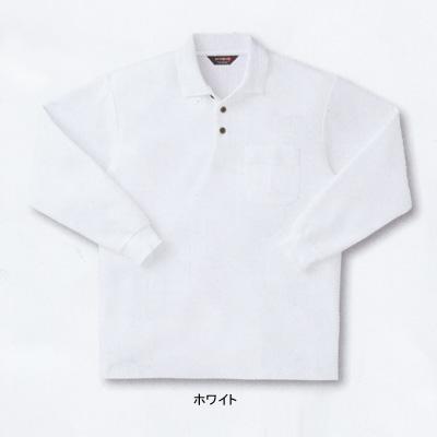サンエス SA10071(AG10071) 長袖ポロシャツ カノコ 綿60%・ポリエステル40% ストレッチ 吸汗・速乾