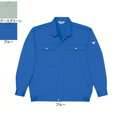 作業着 作業服 自重堂 30100 形態安定ブルゾン 4L