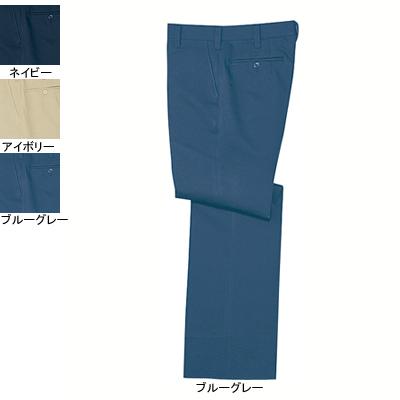 自重堂 325 ストレッチパンツ 裏面ツイル(ポリエステル80%・綿20%)(表/ポリエステル100%、裏/綿100%) ストレッチ 帯電防止素材使用