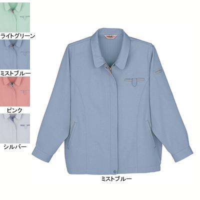 作業着 作業服 自重堂 41315 製品制電レディースブルゾン L・ミストブルー082