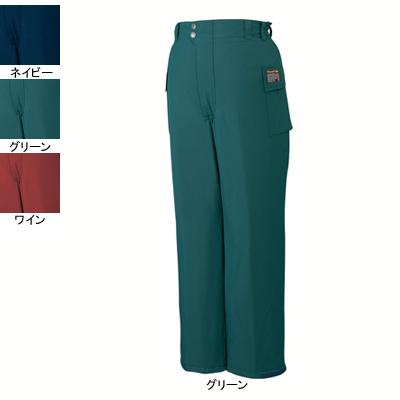 作業着 作業服 防寒着 防寒服 自重堂 48381 防水防寒パンツ XL・グリーン012