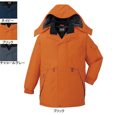 作業着 作業服 防寒着 防寒服 自重堂 48343 防水防寒コート(フード付) XL・ブリック113