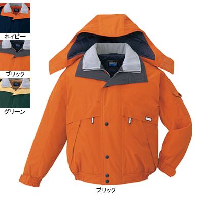作業着 作業服 防寒着 防寒服 自重堂 48230 防水防寒ブルゾン(フード付) XL・ブリック113