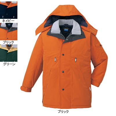 作業着 作業服 防寒着 防寒服 自重堂 48233 防水防寒コート(フード付) XL・ブリック113
