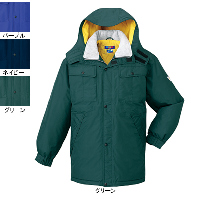 防寒着 防寒ブルゾン 自重堂 28063 防水防寒コート(フード付) XL