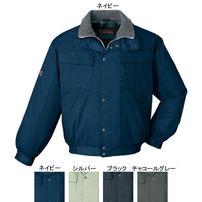 自重堂 48080 防寒ブルゾン(フード付) ツイル(表地/ナイロン100%、裏地/ナイロンタフタ・ポリエステルメッシュ・中綿120gキルト)