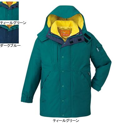 防寒着 防寒服 作業着 作業服 防寒ブルゾン 自重堂 48053 ダブルライナー防水防寒コート(フード付) XL