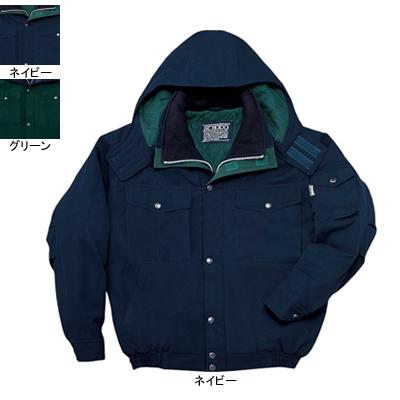 防寒着 防寒服 作業着 作業服 防寒ブルゾン 自重堂 48120 防寒ブルゾン(フード付) 4L