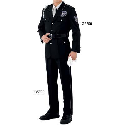 警備服・防犯商品 G-best G5709 ジャケット(黒) S~4L