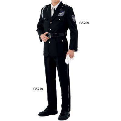作業着 作業服 G-best G5709 ジャケット(黒) LL
