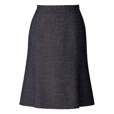 事務服・制服・オフィスウェア ピエ S0431-90 フレアースカート(57cm丈) 13号