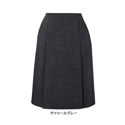 事務服・制服・オフィスウェア ピエ S0311-97 ボックスプリーツスカート(54cm丈) 17号~21号