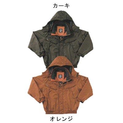 作業着 作業服 防寒着 防寒服 サンエス AG31120 防水防寒ブルゾン 4L オレンジ30